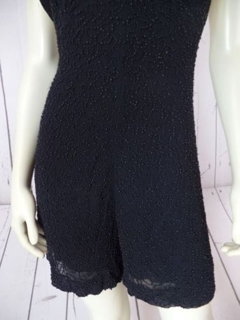 French Connection Beaded Onesie Shorts Outfit Viscose Rayon Sexy Dress Image 4