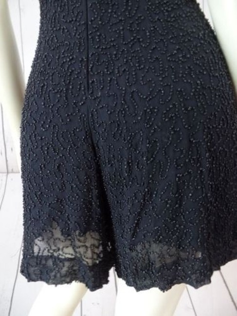 French Connection Beaded Onesie Shorts Outfit Viscose Rayon Sexy Dress Image 9