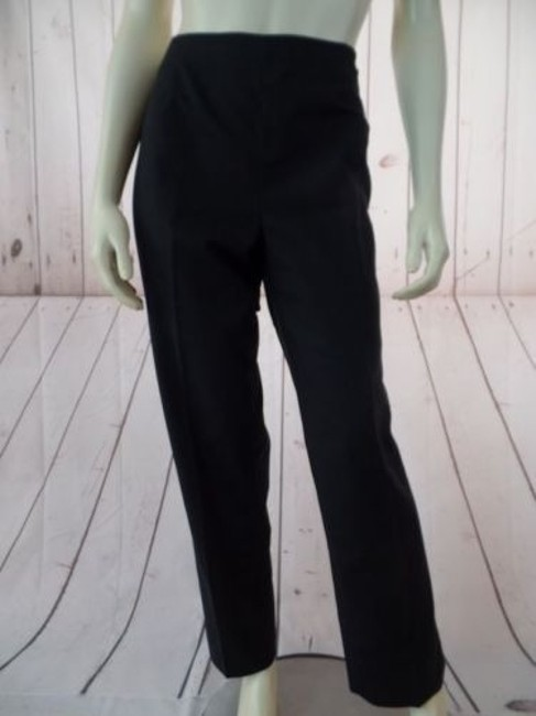 Preload https://img-static.tradesy.com/item/14341357/lafayette-148-ny-pants-shiny-black-cotton-elastane-stretch-crop-unlined-chic-0-0-650-650.jpg