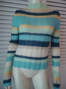 Guess Jeans Mohair Blend Mock Turtleneck Hot Sweater