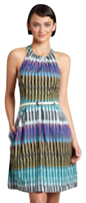 Jessica Howard short dress Brown and Teal on Tradesy