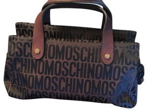 Moschino Satchel in Brown