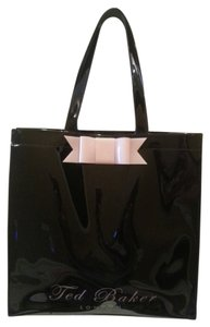 Ted Baker Pvc Shopping Work Tote in Black