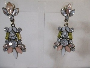 Ann Taylor Ann Taylor Crystal Teardrop Earrings