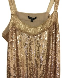 Lafayette 148 New York Top Gold Sequin