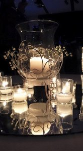 Michaels White Candle (11 Centerpiece