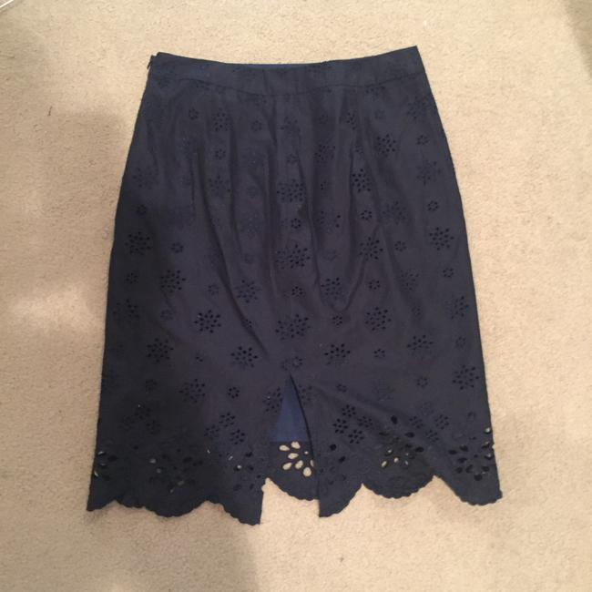 MILLY Skirt Navy Image 1