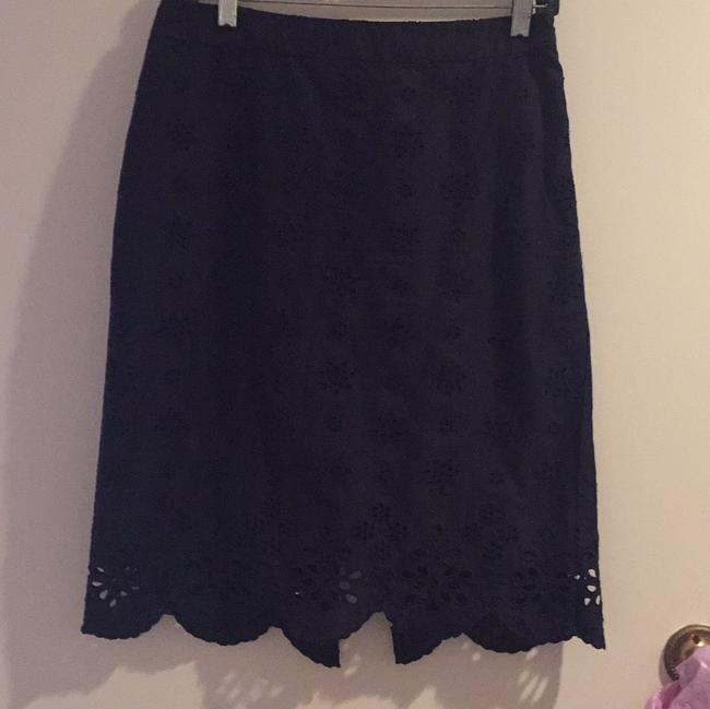 MILLY Skirt Navy Image 2