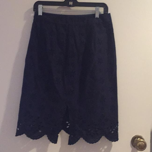 MILLY Skirt Navy Image 3