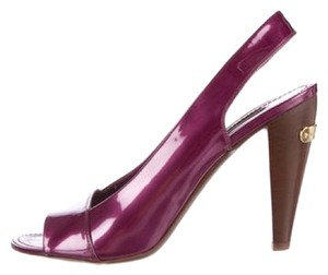 Louis Vuitton Imported Italian Purple Pumps