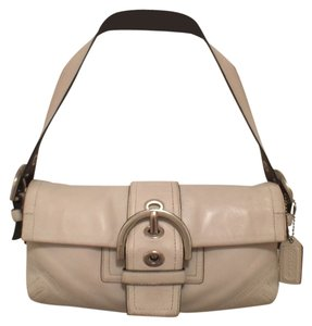 Coach Leather Off Hobo Bag