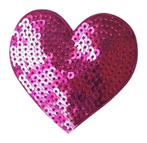 Ban.do Ban.do Dark Pink Heart Pin