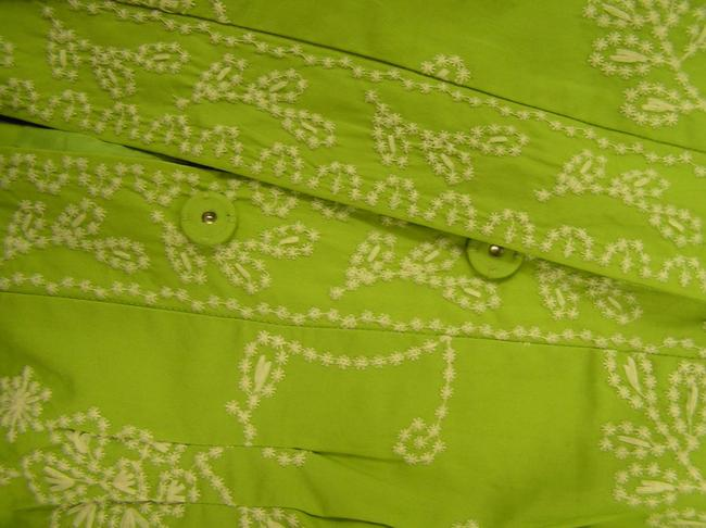 Coldwater Creek lime green Jacket