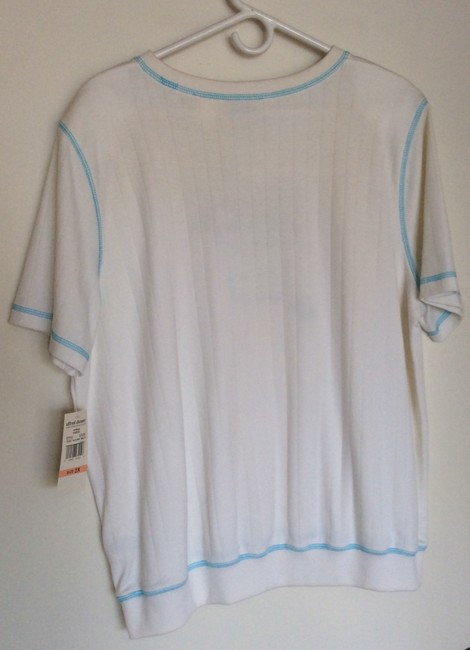 Alfred Dunner Top White Image 1