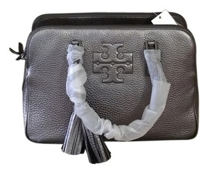 Tory Burch Comes With Dust Tb Shopping Satchel in Silver