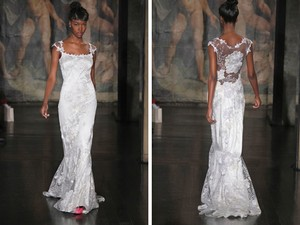 Claire Pettibone Orange Blossom Wedding Dress