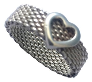 Tiffany & Co. Tiffany & Co. Heart Mesh Ring