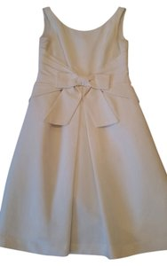 Eliza J Bow Bride Honeymoon Dress