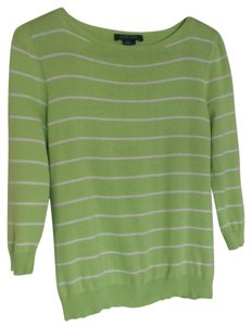 Lauren Ralph Lauren Top Green and white