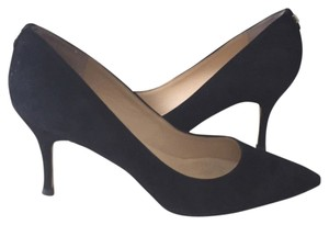 Ivanka Trump Black Suede Pumps