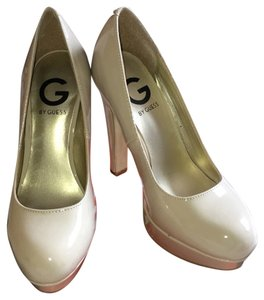 Guess Nude patent leather Platforms