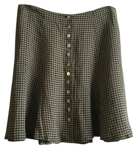 Laundry by Shelli Segal Skirt black and white check