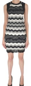 Missoni short dress Black/White on Tradesy