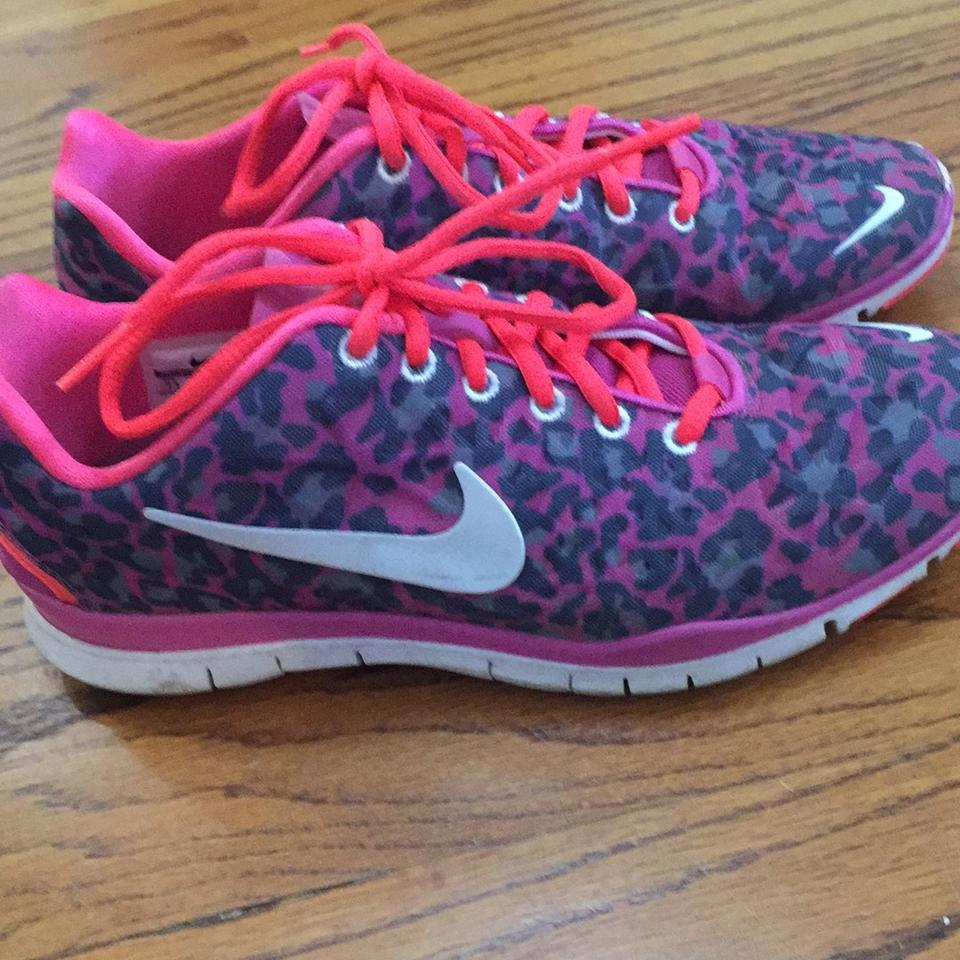 size 40 6a076 52f75 Nike Pink leopard print Athletic Image 3. 1234
