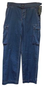 Lauren Jeans Company Cargo Relaxed Pants Indigo (blue)