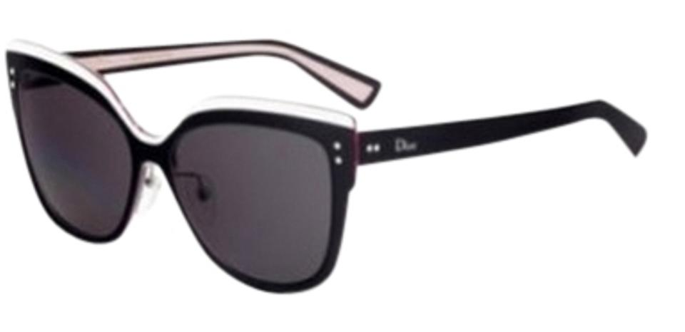 ad0837b33fb36 Dior NEW  725 Dior Exquise Black White Colorblock Cat Eye Sunglasses  Limited Edition Japan Image 0 ...