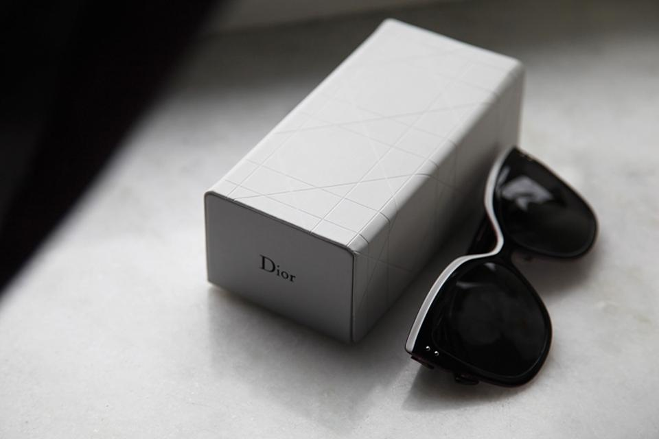 f50077924959b Dior NEW  725 Dior Exquise Black White Colorblock Cat Eye Sunglasses  Limited Edition Japan Image 11. 123456789101112