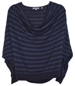 Vince Cropped Dolman Striped Boxy Sweater