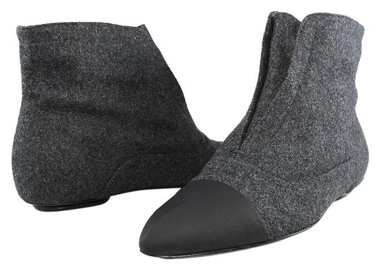 Preload https://img-static.tradesy.com/item/14346895/calvin-klein-stoneblack-italy-collection-oxford-point-cap-toe-ankle-flat-bootsbooties-size-eu-37-app-0-1-540-540.jpg