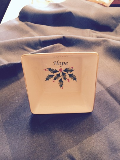 Lenox Fine China Square Hope Dish