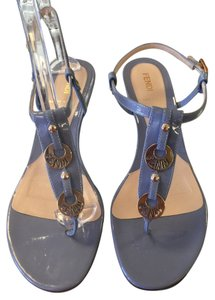 Fendi Light blue Sandals