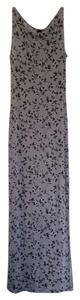 Grey floral Maxi Dress by Per Sextion