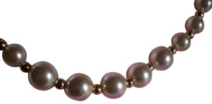 other Like new Faux pearls & goldtone beads necklace