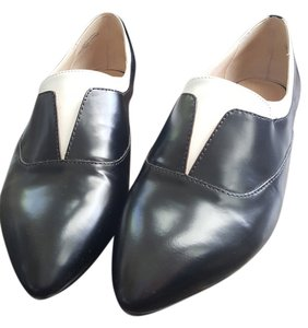 French Connection Black and White Flats