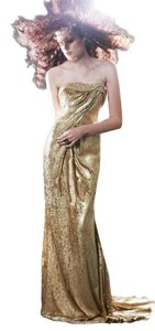 John Paul Ataker Sequin Prom Ball Gown Dress
