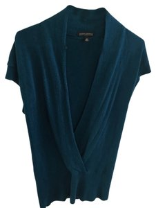 Banana Republic Cashmere Vneck Surplice Br Xs Long Surplice Blue Cute Cashmere Blend Tunic