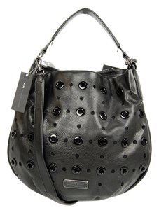 Marc by Marc Jacobs Leather Studded Hobo Bag