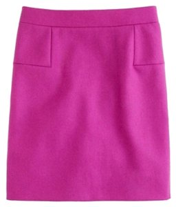 J.Crew Mini Mini Skirt Purple