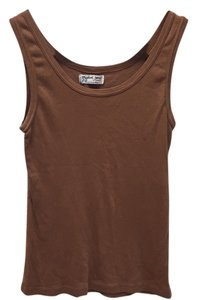 Michael Stars Top Brown tank and green tank