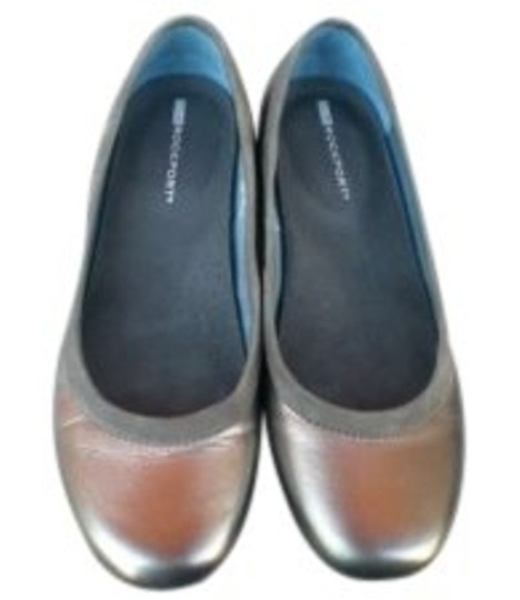 Preload https://img-static.tradesy.com/item/143483/rockport-silver-pewter-leather-ballet-flats-size-us-8-0-0-540-540.jpg