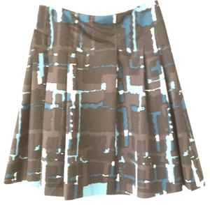 Express Skirt Black, blue, white