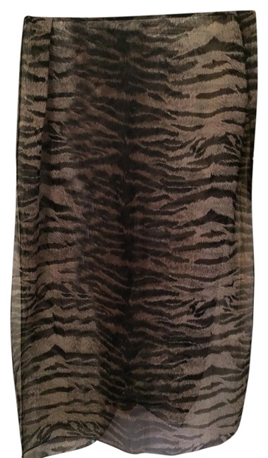 Item - Brown Multi Print Scarf/Wrap