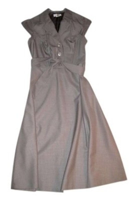 Preload https://img-static.tradesy.com/item/143489/calvin-klein-grey-mid-length-night-out-dress-size-4-s-0-0-650-650.jpg