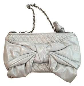 Juicy Couture Wristlet in silvery blue