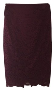 Express Skirt Wine