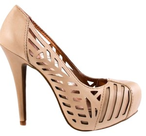 BCBGeneration Bcbg Platform Pumps Nude Platforms